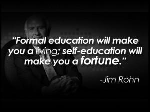 Self Educate JRohn
