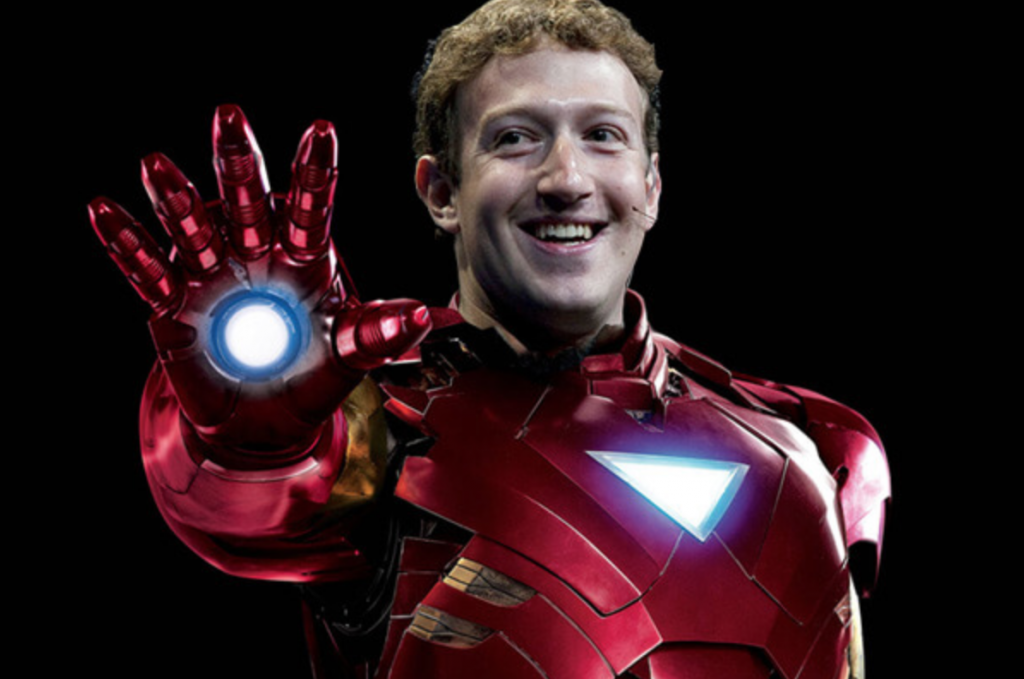 Zuckerberg Ironman