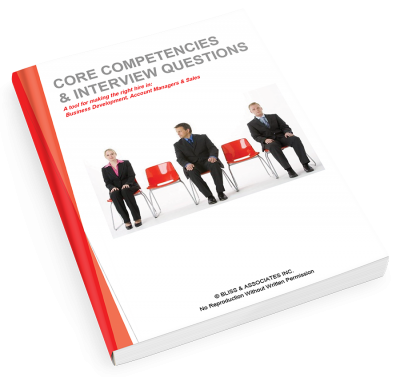 Core Competencies & Interview Questions - Sales