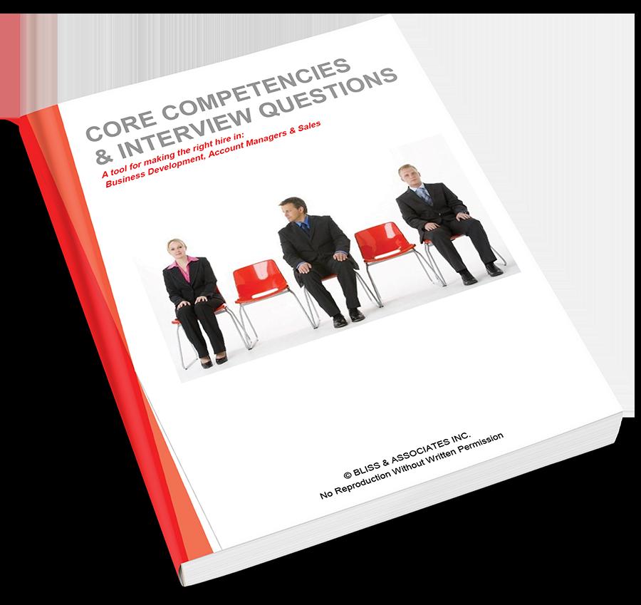 Core Competencies & Interview Questions - Sales