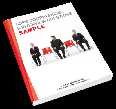 Core Competencies & Interview Questions - Sample