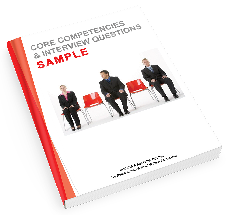 Core Competencies & Interview Questions - Sample