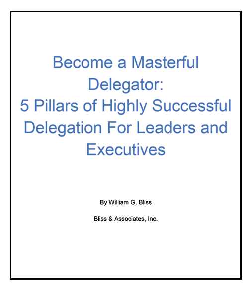Becoming A Master Delegator