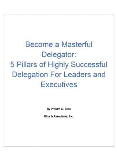 Becoming A Master Delegator