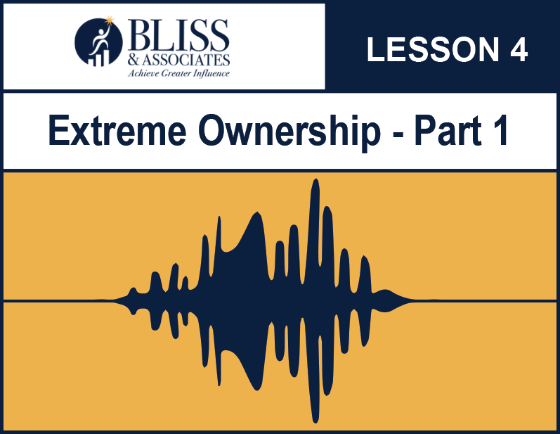 Extreme Ownership Part 1