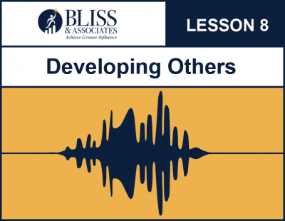 Developing Others Lesson 8